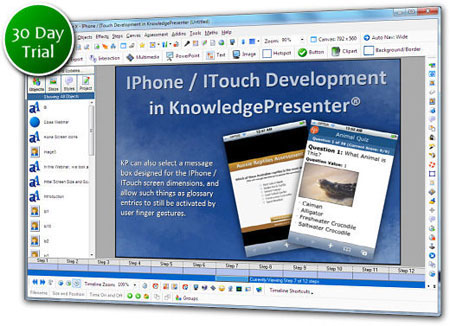 KnowledgePresenter Authoring Tool